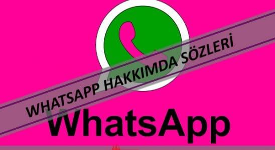 whatsapp durum sözleri, Whatsapp Hakkımda Sözleri