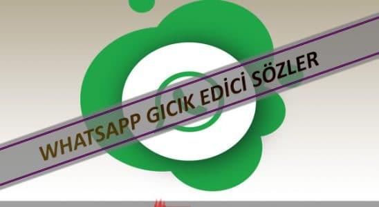 Whatsapp Gıcık Edici Sözleri