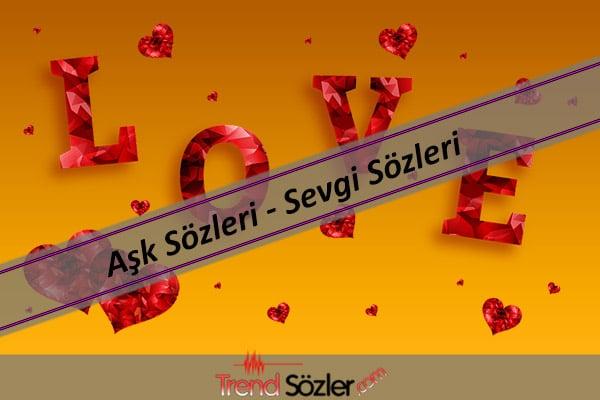Sevgi mesajları, Aşk sözleri