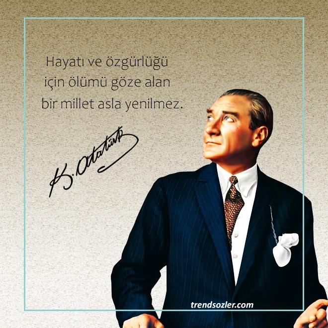 Atatürk sözleri, dünyaca ünlü sözler resimli