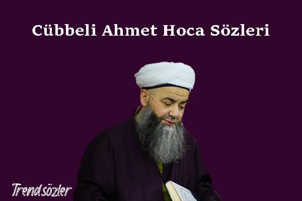 Cübbeli Ahmet Hoca Sözleri