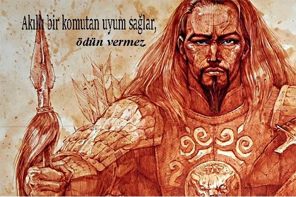atilla sözleri, hun imparatoru atilla sözleri